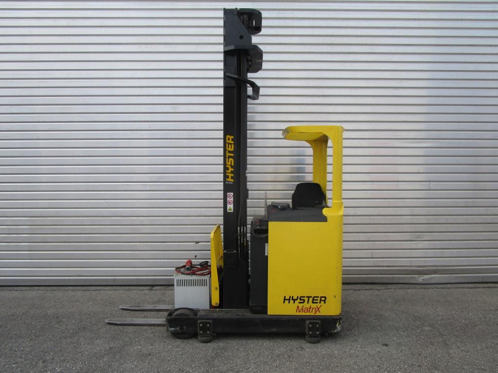 Hyster R 1.6 Schubmaststapler www.eder-stapler.de