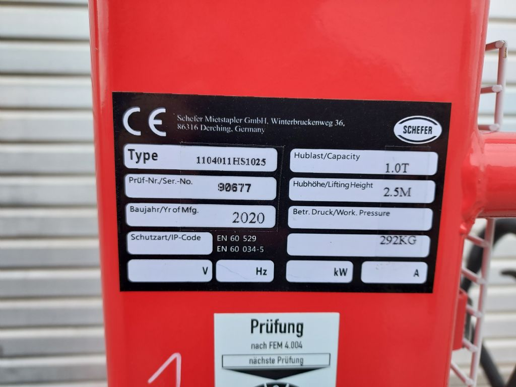 Schefer 1104011HS1025 Handstapler www.eder-stapler.de