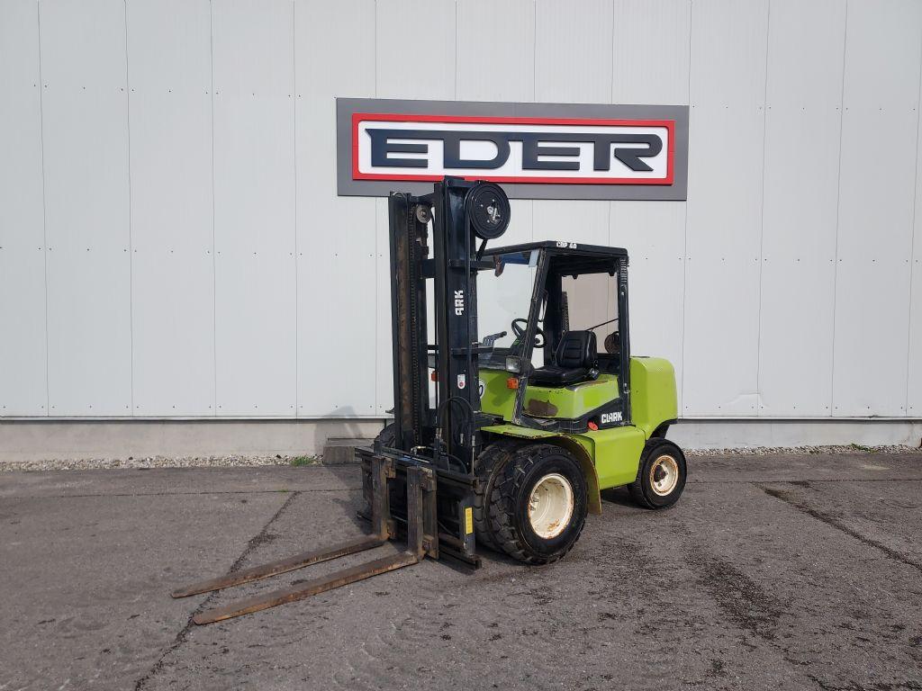 Clark CDP 40 Dieselstapler www.eder-stapler.de