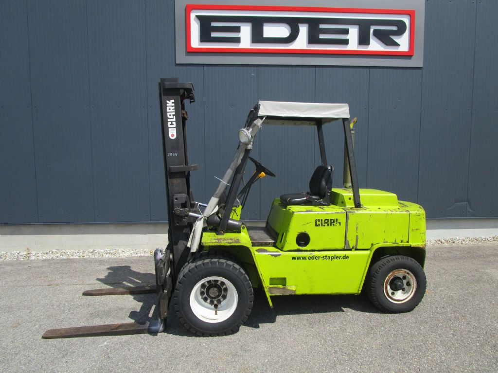 Clark C500 Y 80PD Dieselstapler www.eder-stapler.de