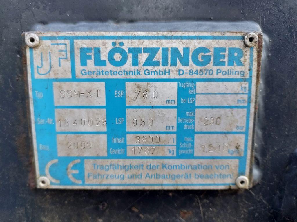 Flötzinger Silage Greifschaufel SSM-XL Schüttgutschaufel www.eder-stapler.de
