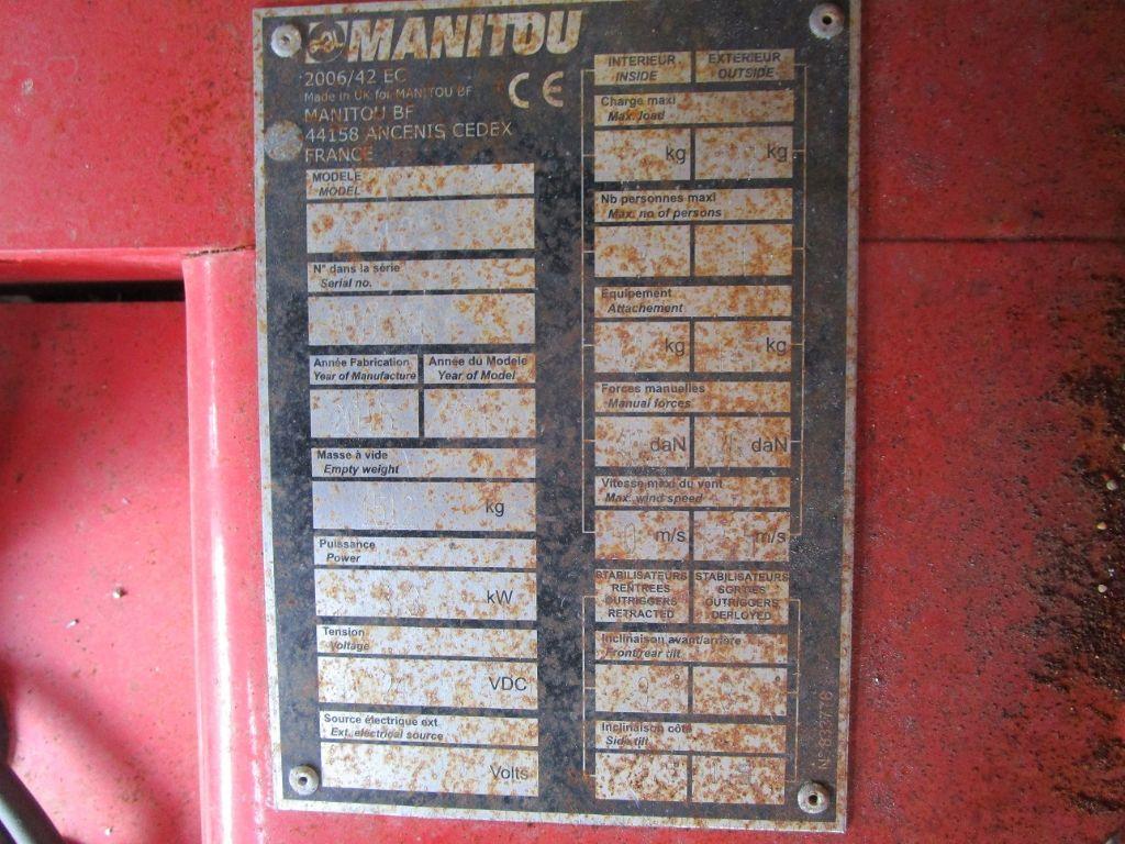 Manitou 78 SEC Scherenarbeitsbühne www.eder-stapler.de