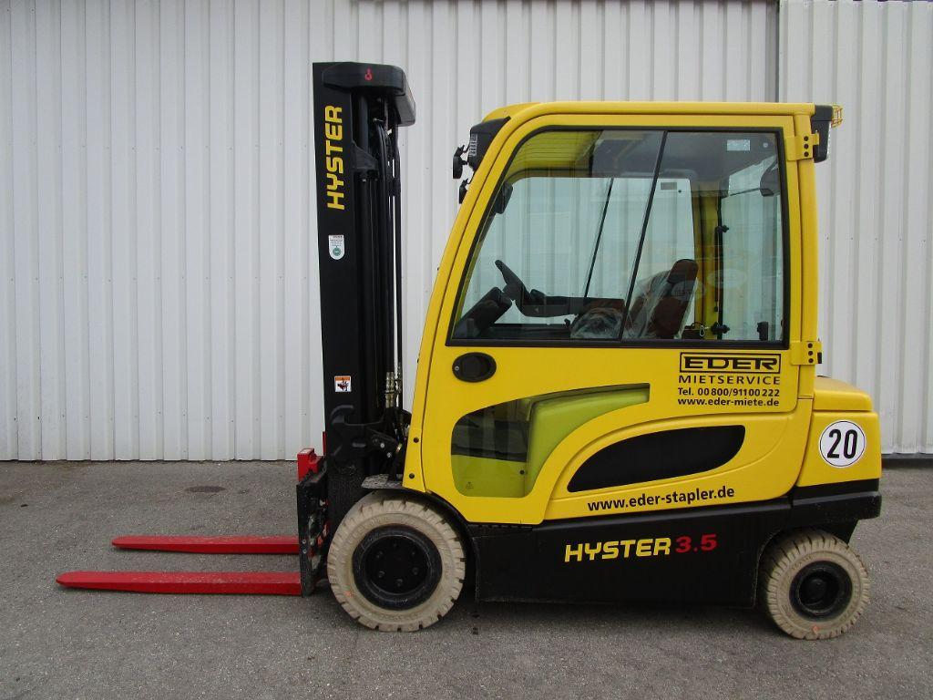Hyster J 3.5XN Elektro 4 Rad-Stapler www.eder-stapler.de
