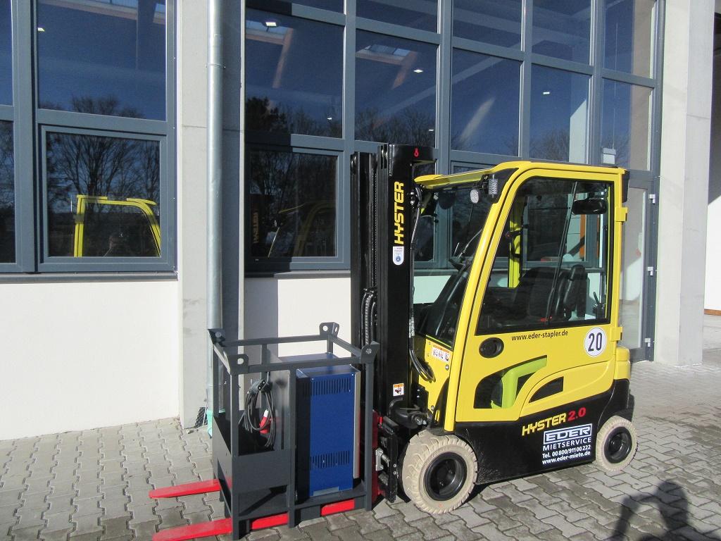 Hyster J 2.0XN MWB Elektro 4 Rad-Stapler www.eder-stapler.de