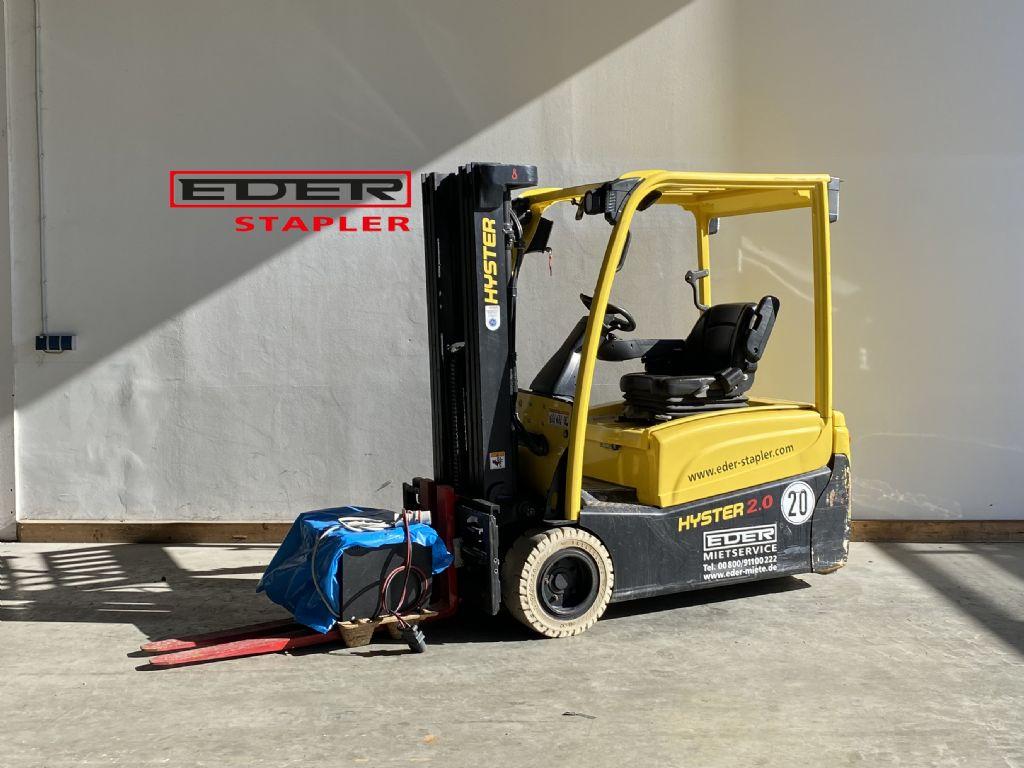 Hyster J 2.0XNT Elektro 3 Rad-Stapler www.eder-stapler.de