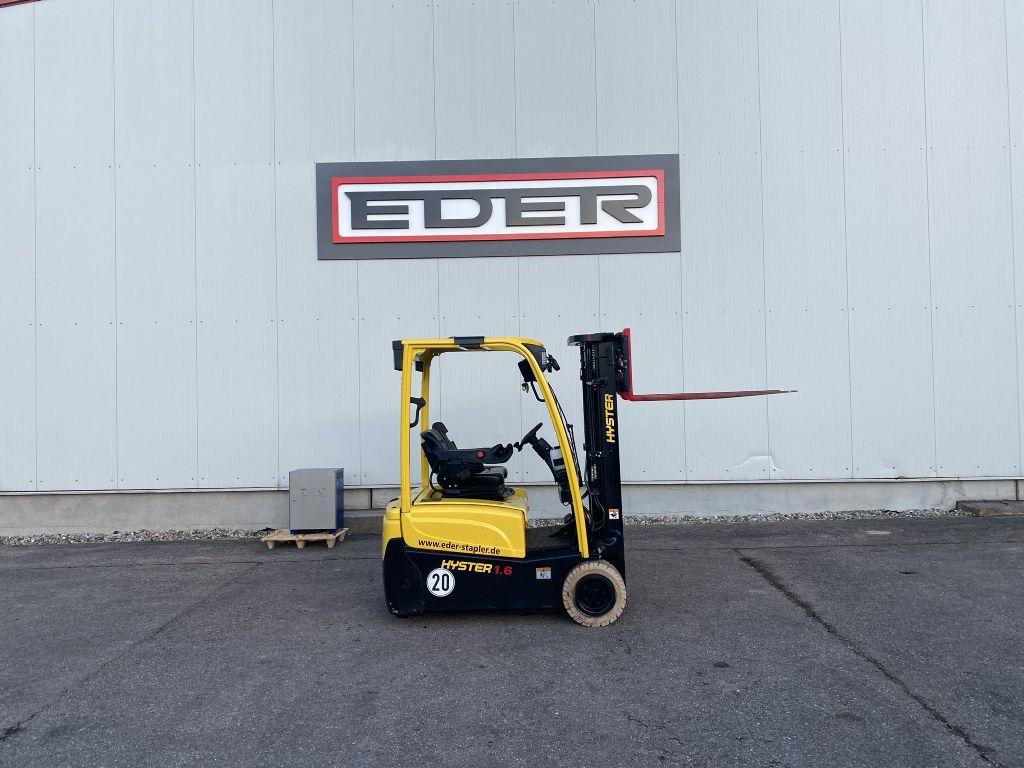 Hyster J 1.6XNT MWB Elektro 3 Rad-Stapler www.eder-stapler.de