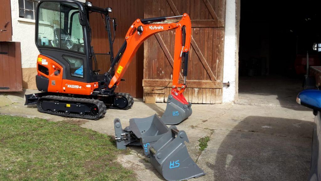 Kubota KX19 Minibagger www.eder-stapler.de