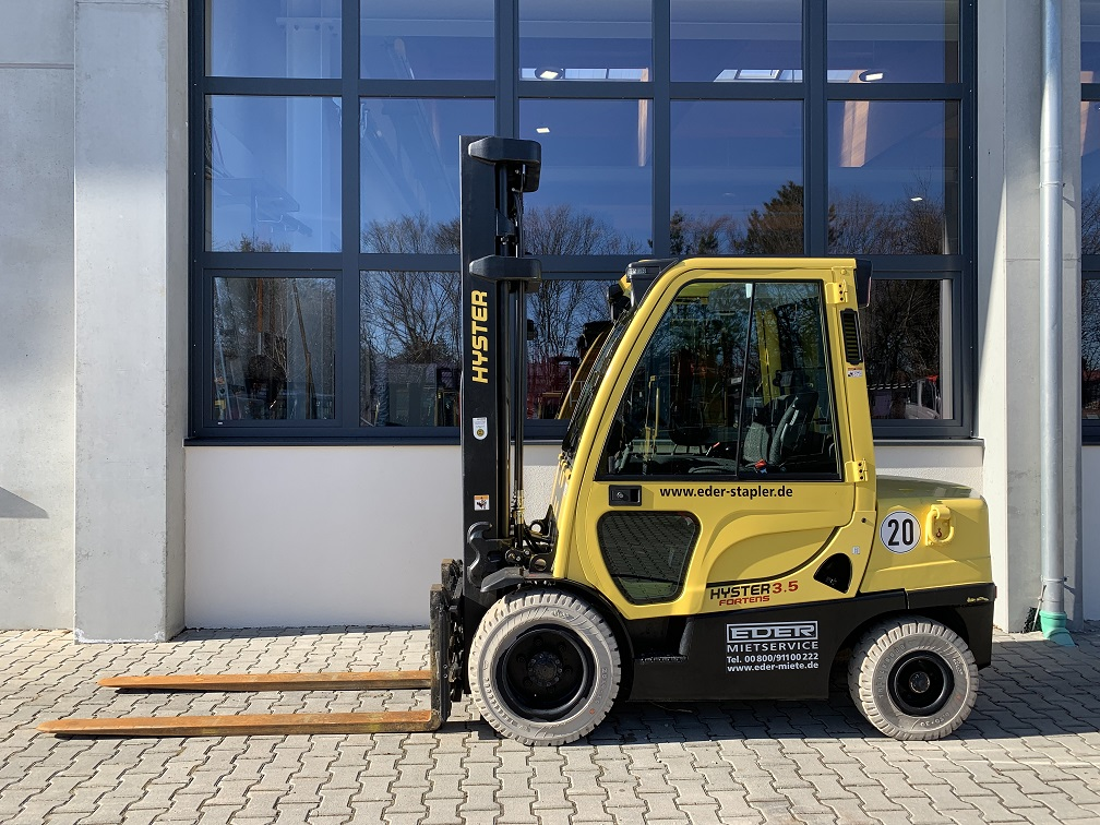 Hyster H 3.5FT Dieselstapler www.eder-stapler.de