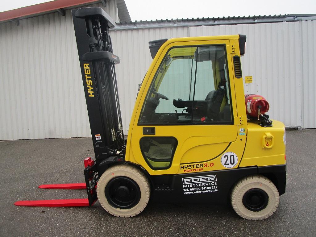 Hyster H 3.0FT Treibgasstapler www.eder-stapler.de