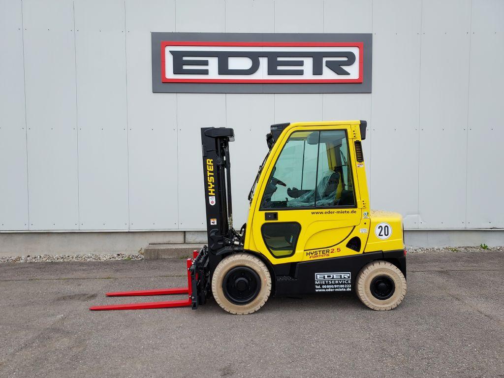 Hyster H 2.5FT Dieselstapler www.eder-stapler.de