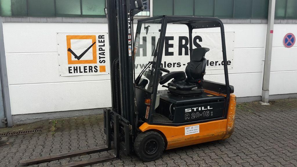 Still-R20-16-Elektro 3 Rad-Stapler www.ehlers-stapler.de