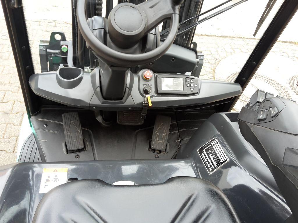 Mitsubishi FB35N EDIA EX Elektro 4 Rad-Stapler ehlers-stapler.de