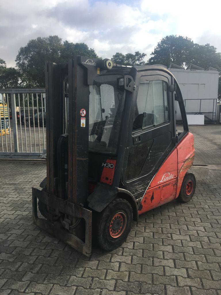 Linde-H30D/393-Diesel Forklift-http://www.emslift.de