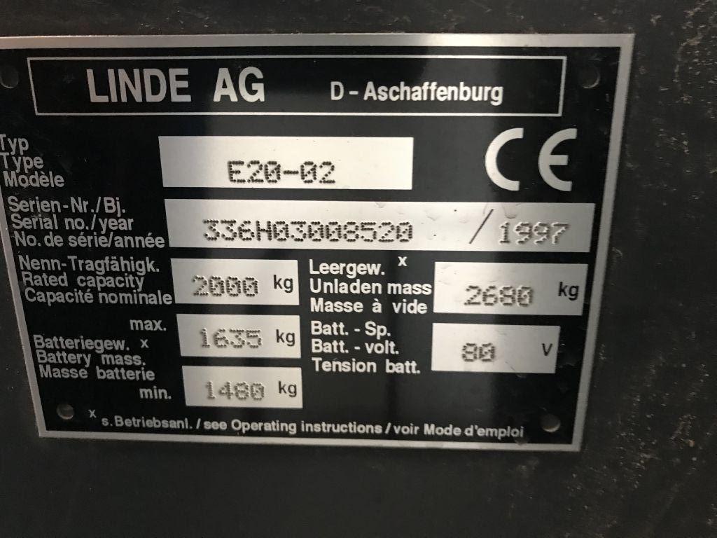 Linde-E20-02-Elektro 4 Rad-Stapler-http://www.emslift.de