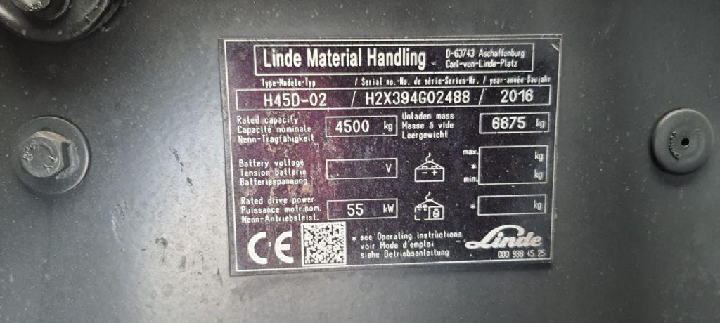 Linde-H45D -Dieselstapler-http://www.emslift.de