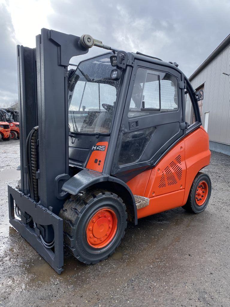 Linde-H45D-01 Containerfähig-Diesel Forklift-http://www.emslift.de