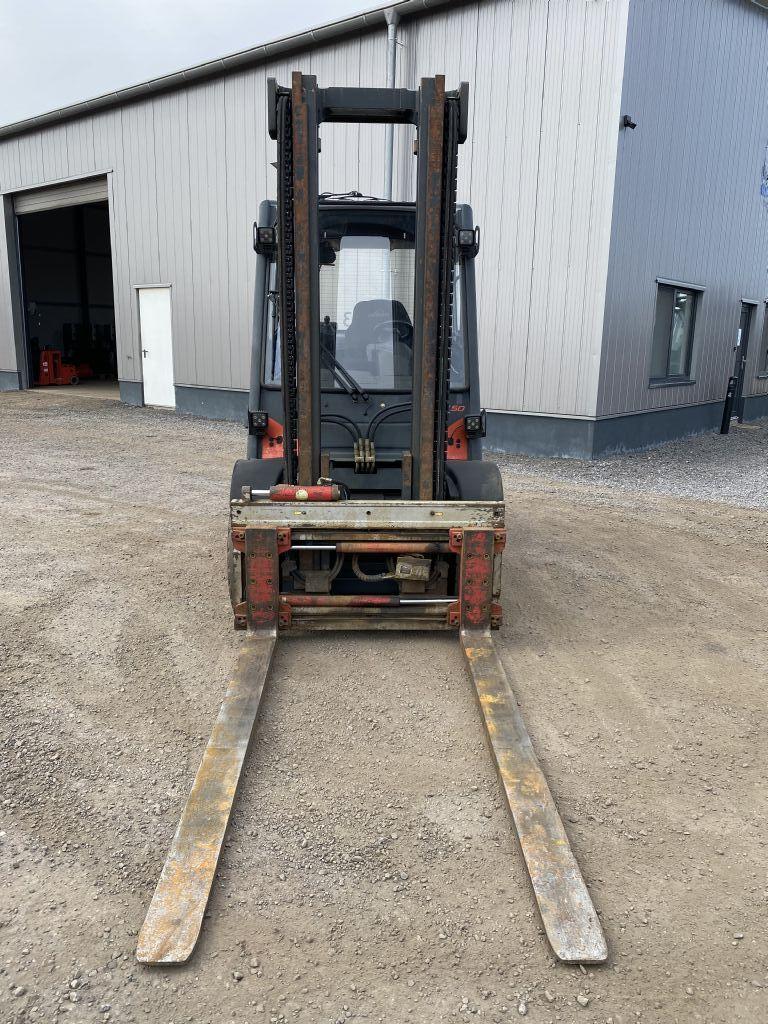 Linde H50D-02 Diesel Forklift www.emslift.de