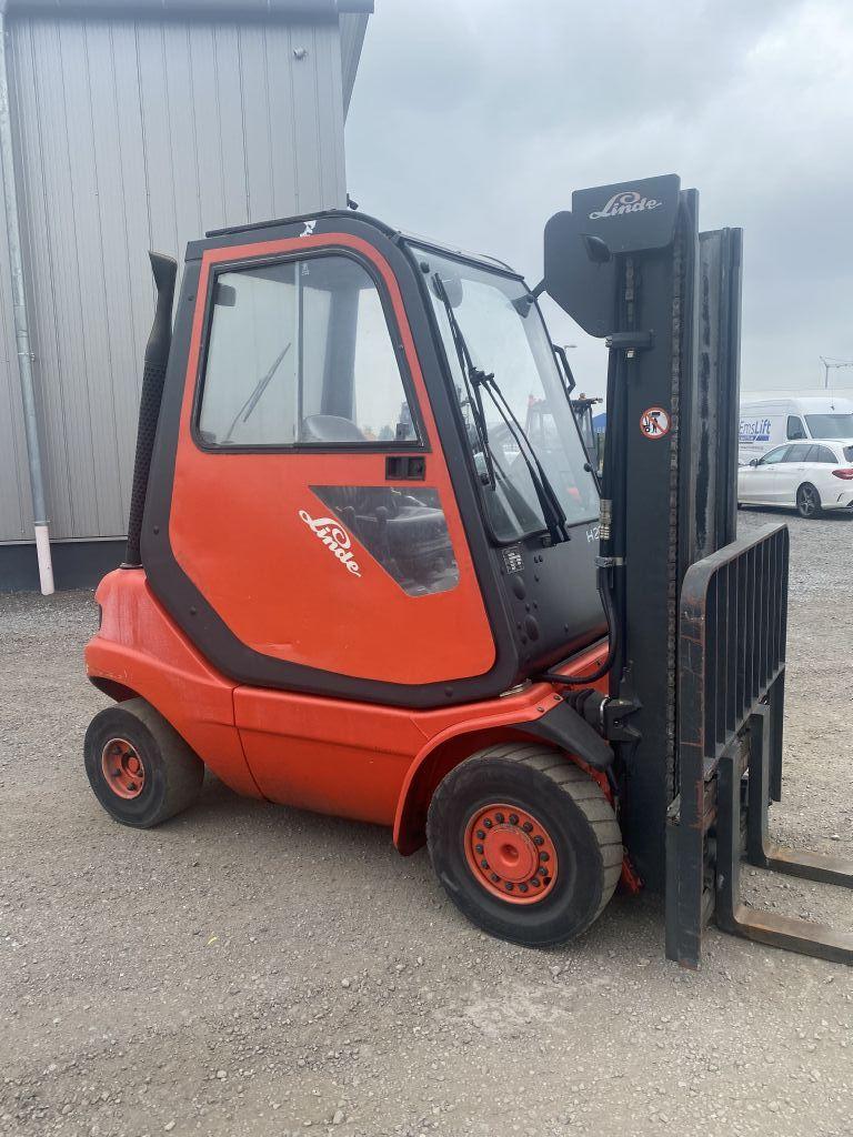 Linde H20D-03 Diesel Forklift www.emslift.de