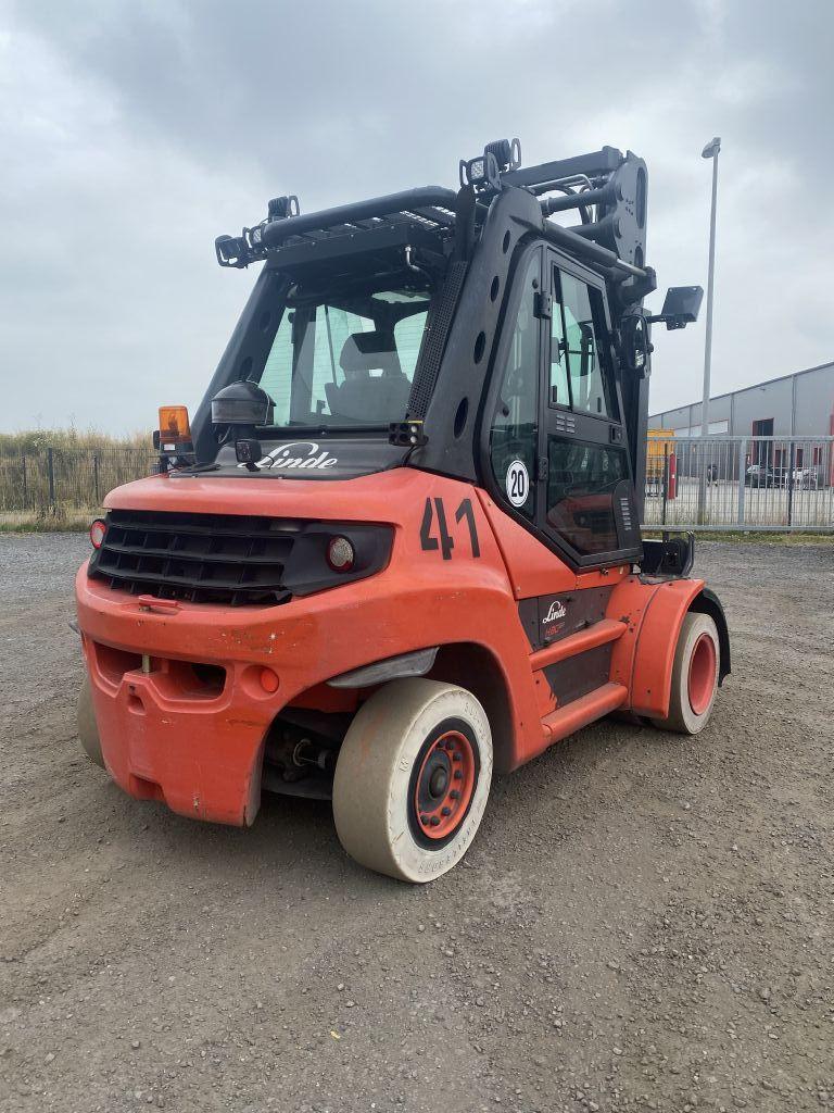 Linde H80D-03 Diesel Forklift www.emslift.de
