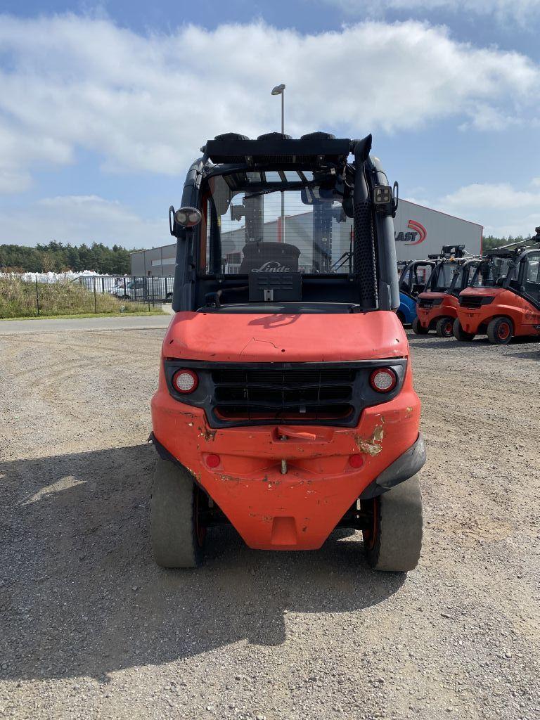 Linde H50D-01 Diesel Forklift www.emslift.de