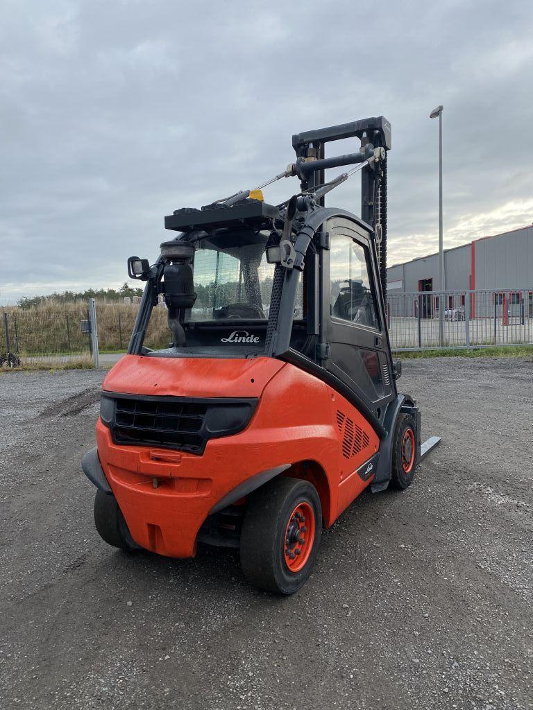 Linde H40D-02 Diesel Forklift www.emslift.de