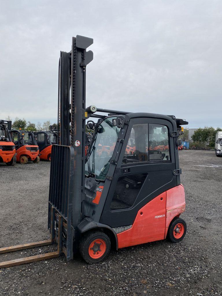 Linde H14D-01 Diesel Forklift www.emslift.de