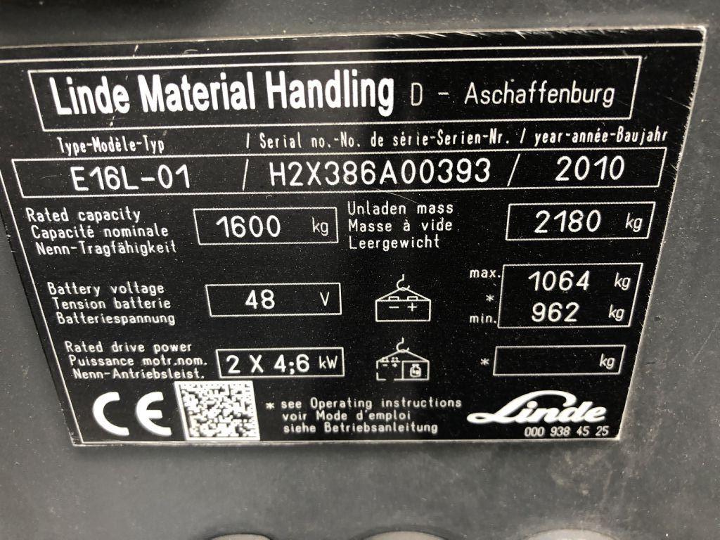 Linde-E16-01-Elektro 3 Rad-Stapler-http://www.emslift.de
