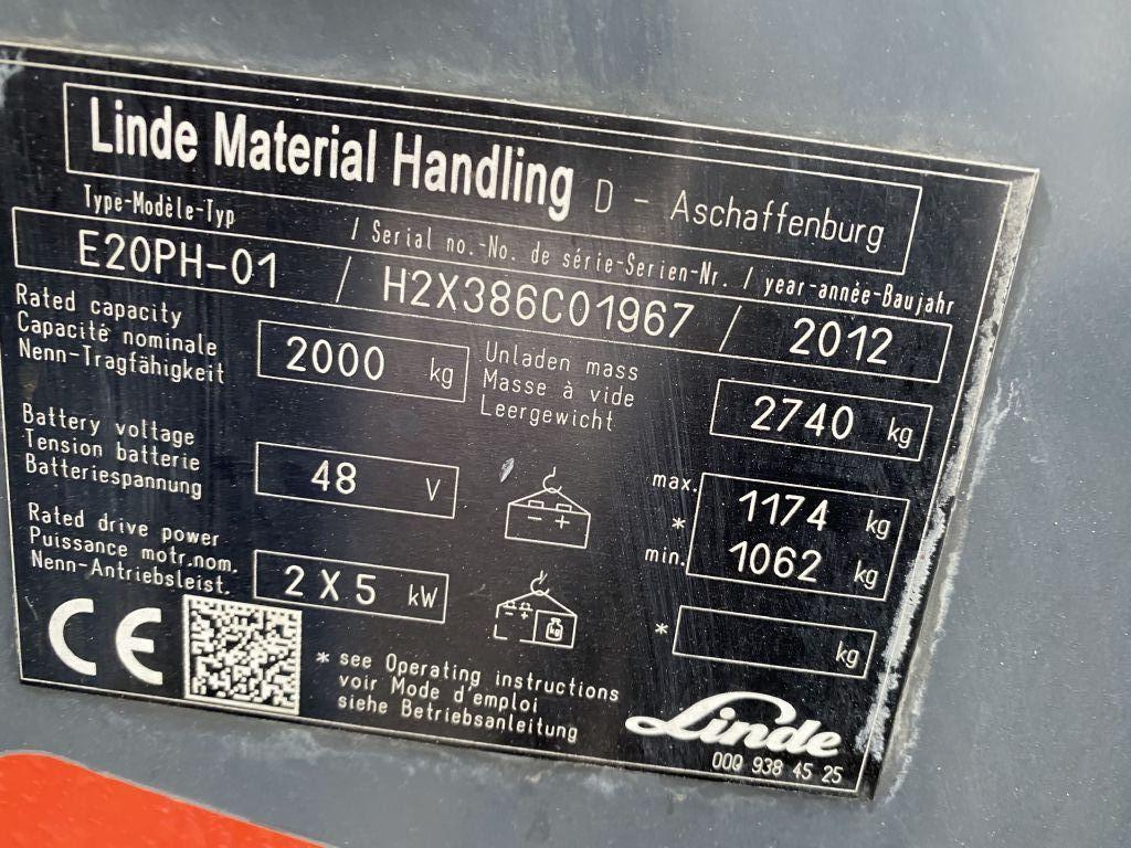 Linde-E20PH-01-Elektro 4 Rad-Stapler-http://www.emslift.de