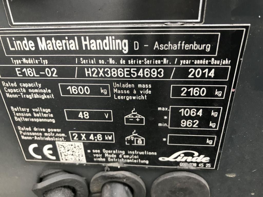 Linde-E16L-02-Elektro 3 Rad-Stapler-http://www.emslift.de