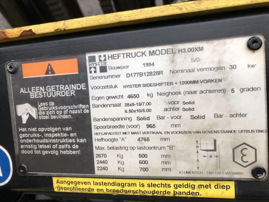 Hyster-H3.00XM-Treibgasstapler-http://www.emslift.de