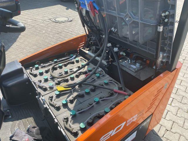 Doosan-B20T-7-Elektro 3 Rad-Stapler-www.fo-stapler.de