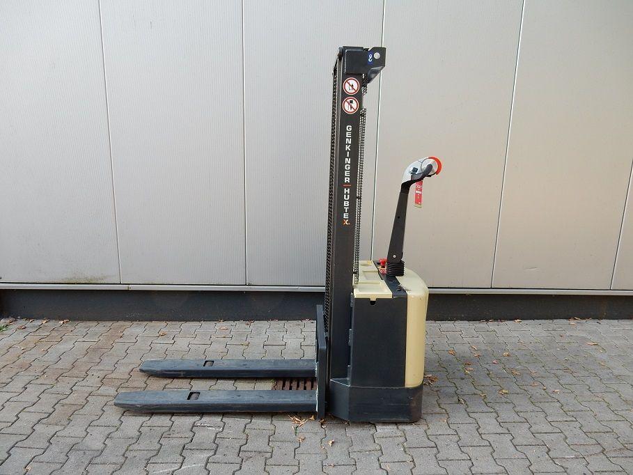 Genkinger-Hubtex-VH-PWS 10/30, neue Batterie-Hochhubwagen-www.eundw.com