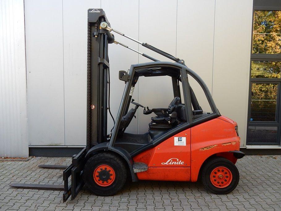 Linde-H45D, 1480 Betr.-Std.!-Dieselstapler-www.eundw.com