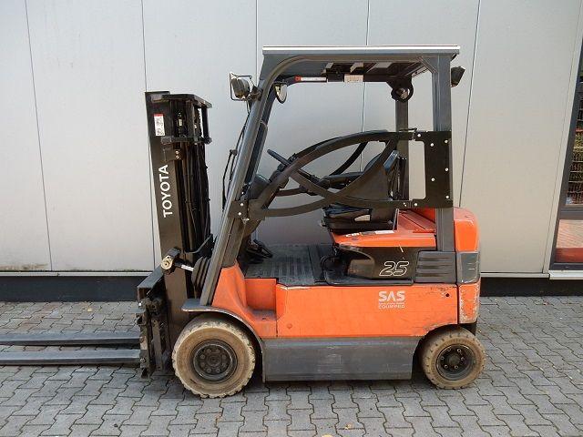 Toyota-7FBMF25-Elektro 4 Rad-Stapler-www.eundw.com