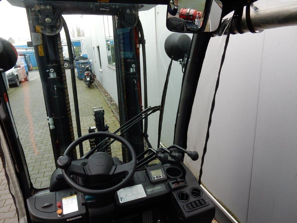 Toyota-02-8FGJF35, 1403 Stunden!!!-Treibgasstapler-www.eundw.com