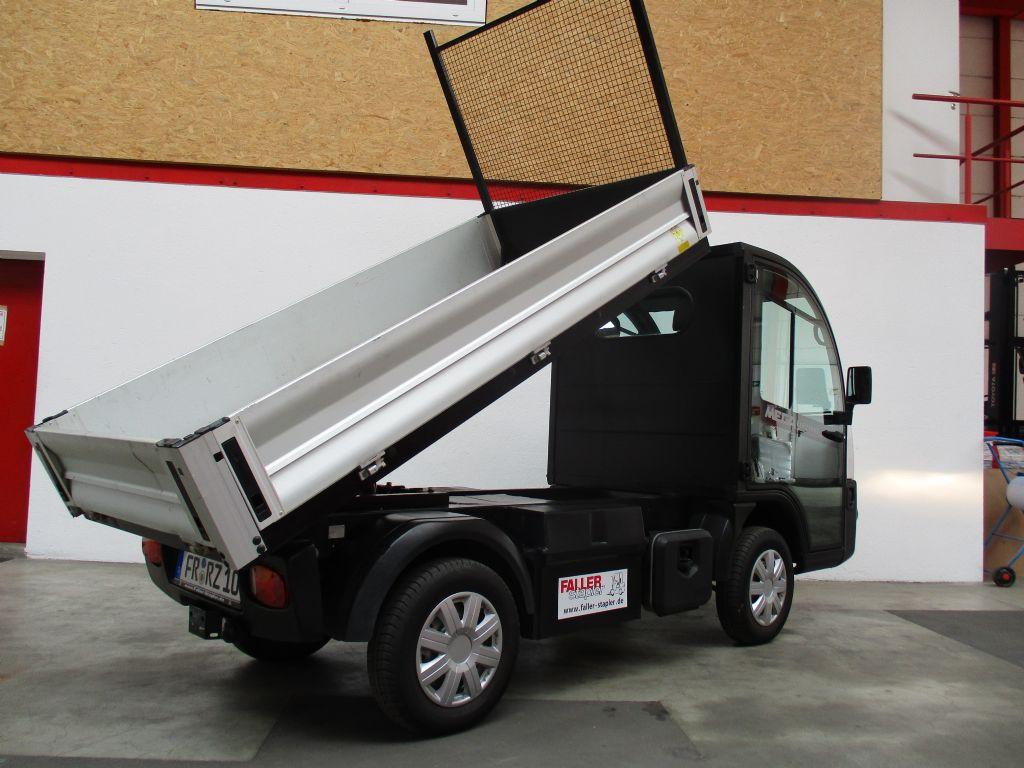 Mega E-Worker M10 Elektro Plattformwagen www.faller-stapler.de