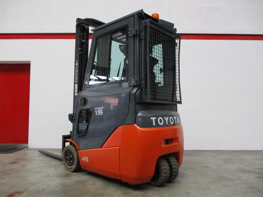 Toyota 8FBET15 Elektro 3 Rad-Stapler www.faller-stapler.de