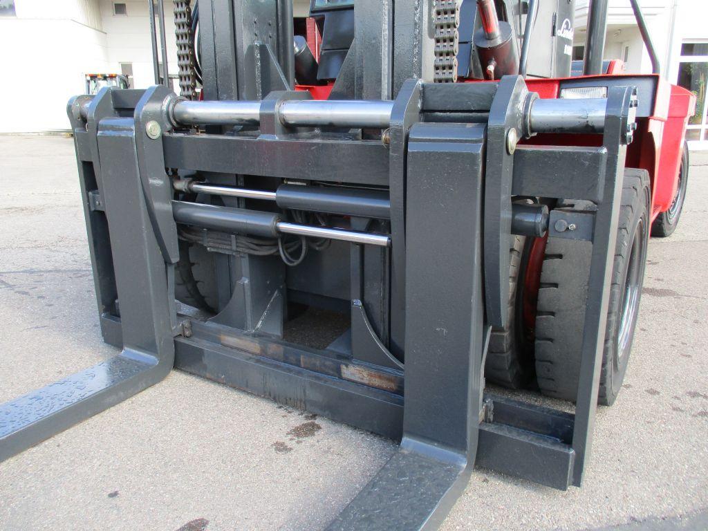 Linde H160 Schwerlaststapler www.faller-stapler.de