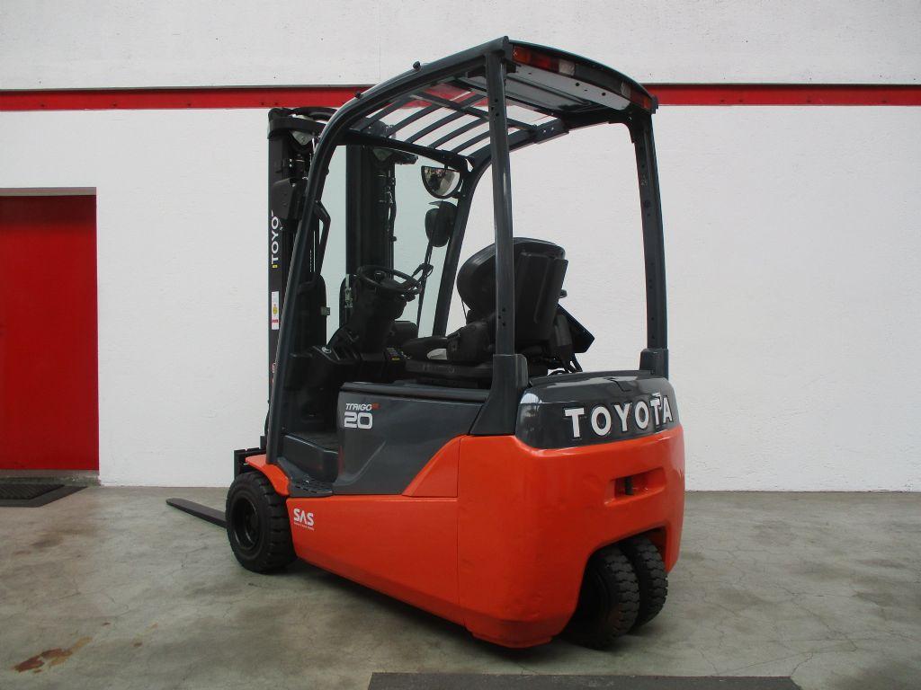 Toyota 8FBE20T Elektro 3 Rad-Stapler www.faller-stapler.de
