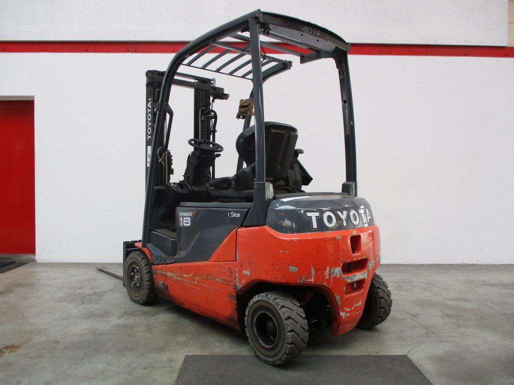 Toyota 8FBM18T Elektro 4 Rad-Stapler www.faller-stapler.de