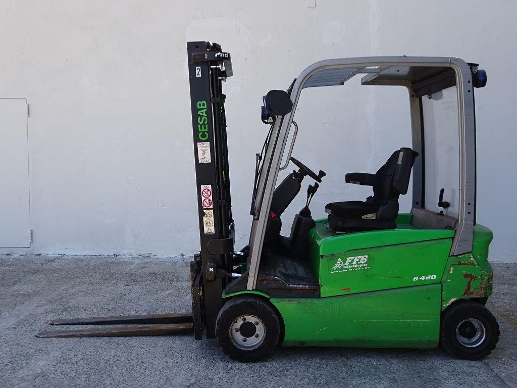 Cesab-B420-Elektro 4 Rad-Stapler www.ffb-gabelstapler.de
