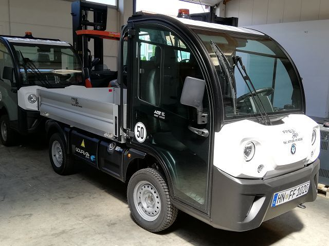 Iseki-Goupil G4-Elektro Plattformwagen www.ffb-gabelstapler.de