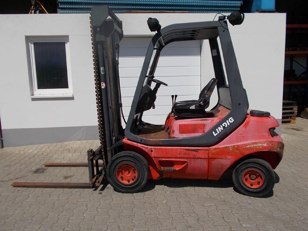 Linde H25D-02 Dieselstapler www.filler-gmbh.de