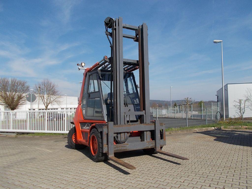 Linde H60D Dieselstapler www.filler-gmbh.de