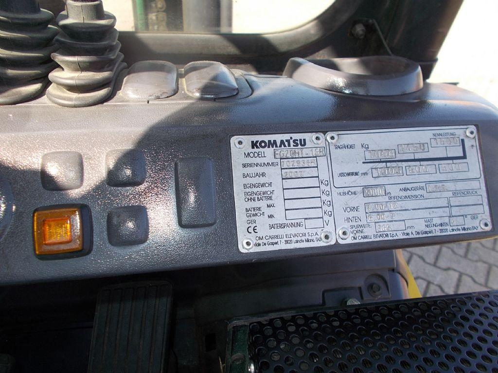 Komatsu FG20HT-16R Treibgasstapler www.filler-gmbh.de