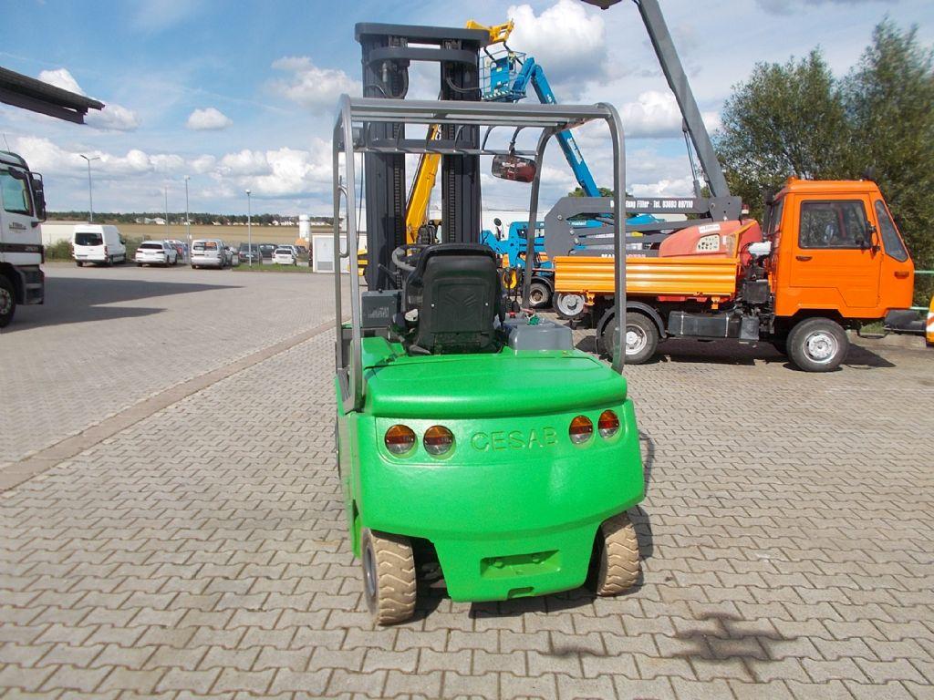 Cesab Blitz 300 Elektro 4 Rad-Stapler www.filler-gmbh.de