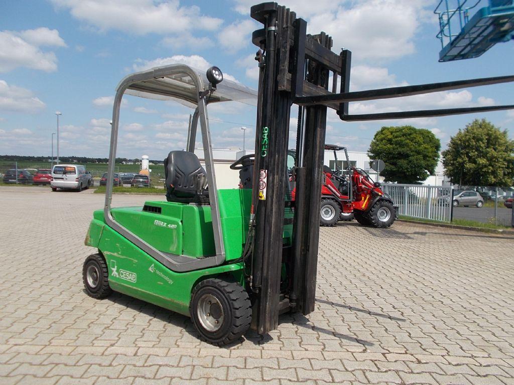 Cesab Blitz 420AC Elektro 4 Rad-Stapler www.filler-gmbh.de