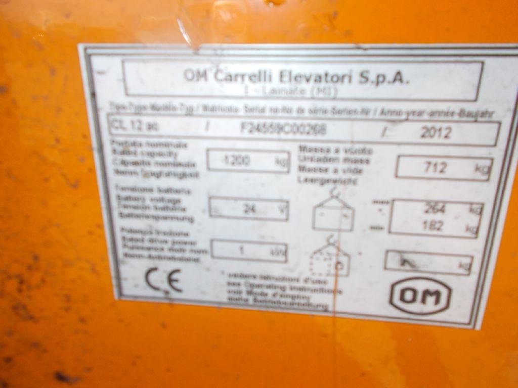 OM CLL12ac Deichselstapler www.filler-gmbh.de