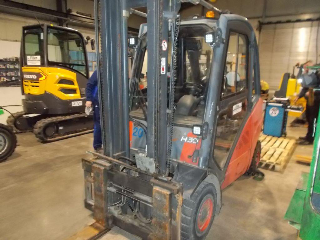 Linde H30D Dieselstapler www.filler-gmbh.de