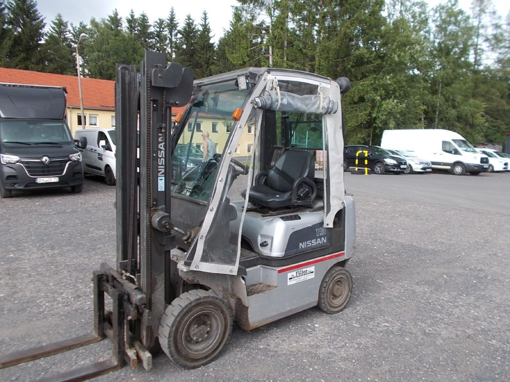 Nissan Y1D1A15Q Dieselstapler www.filler-gmbh.de